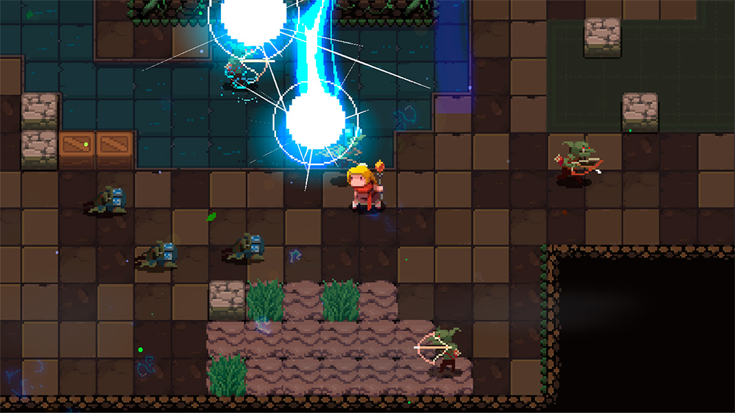 Elemental Dungeon roguelite