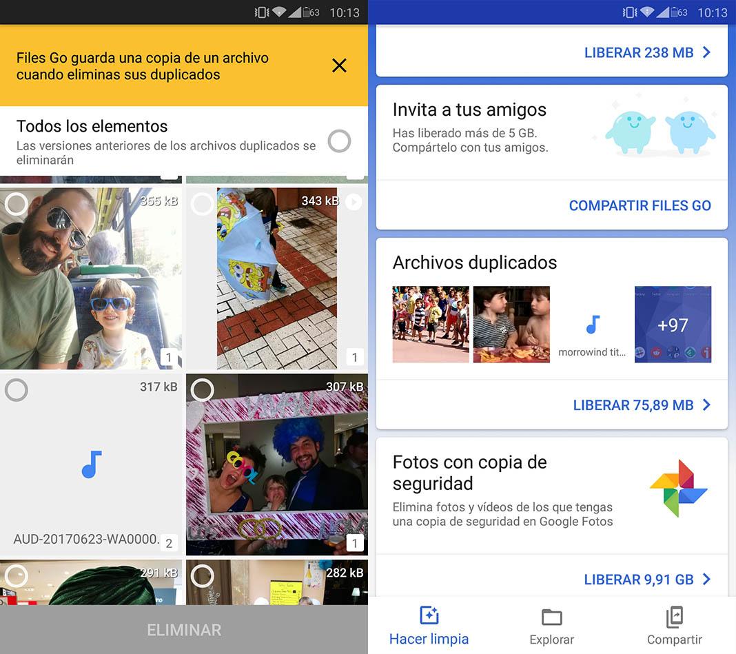 eliminar fotos repetidas android 10 consejos para liberar espacio en nuestro dispositivo Android