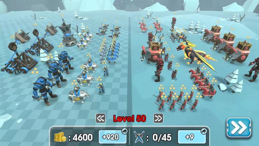 Epic Battle Simulator 2 colocacion de tropas