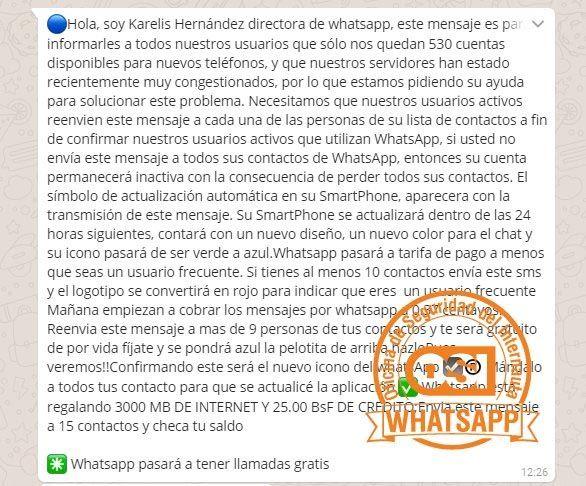 estafa whatsapp cierre Las últimas estafas que circulan por WhatsApp en las que no debes caer