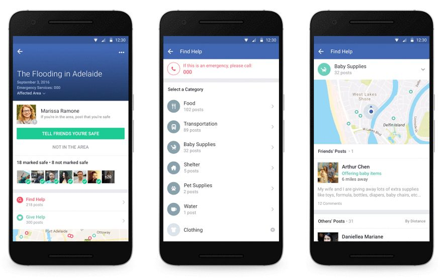 facebook community help Facebook adds weather updates and disaster alerts