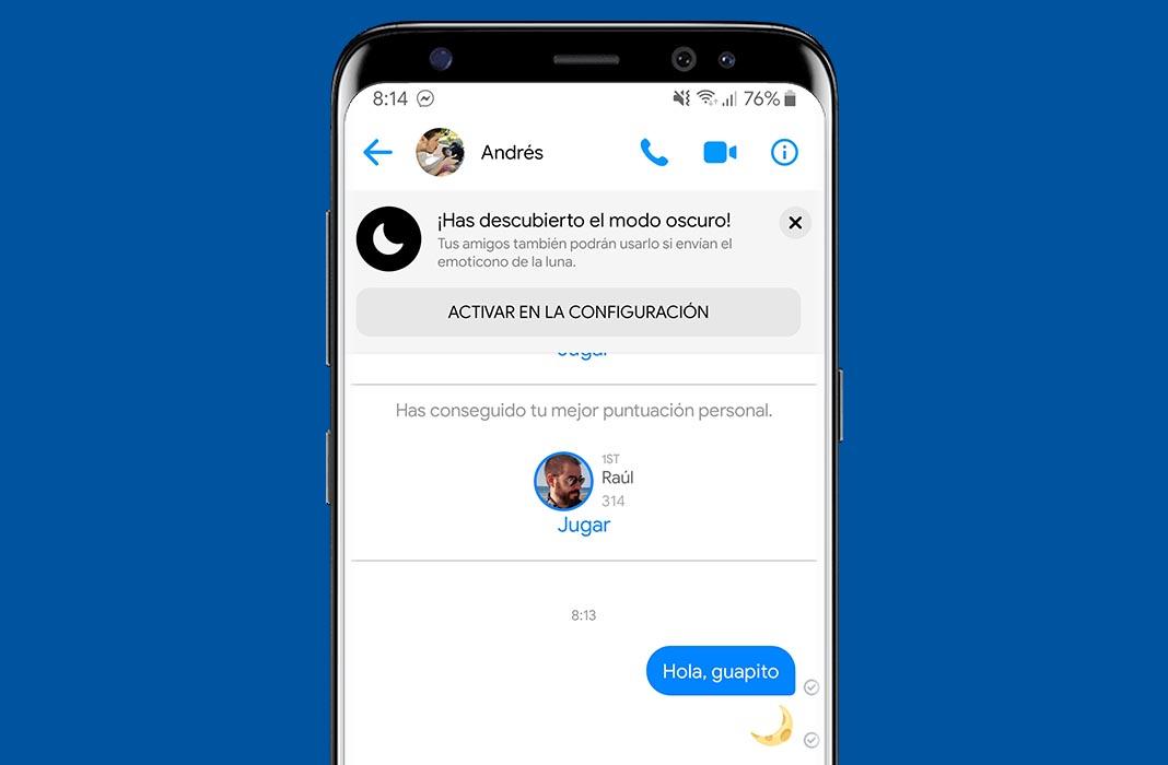 facebook messenger modo oscuro Cómo activar el modo oscuro en Facebook Messenger [Actualizado]