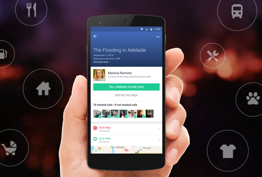 facebook novedades featured Facebook adds weather updates and disaster alerts