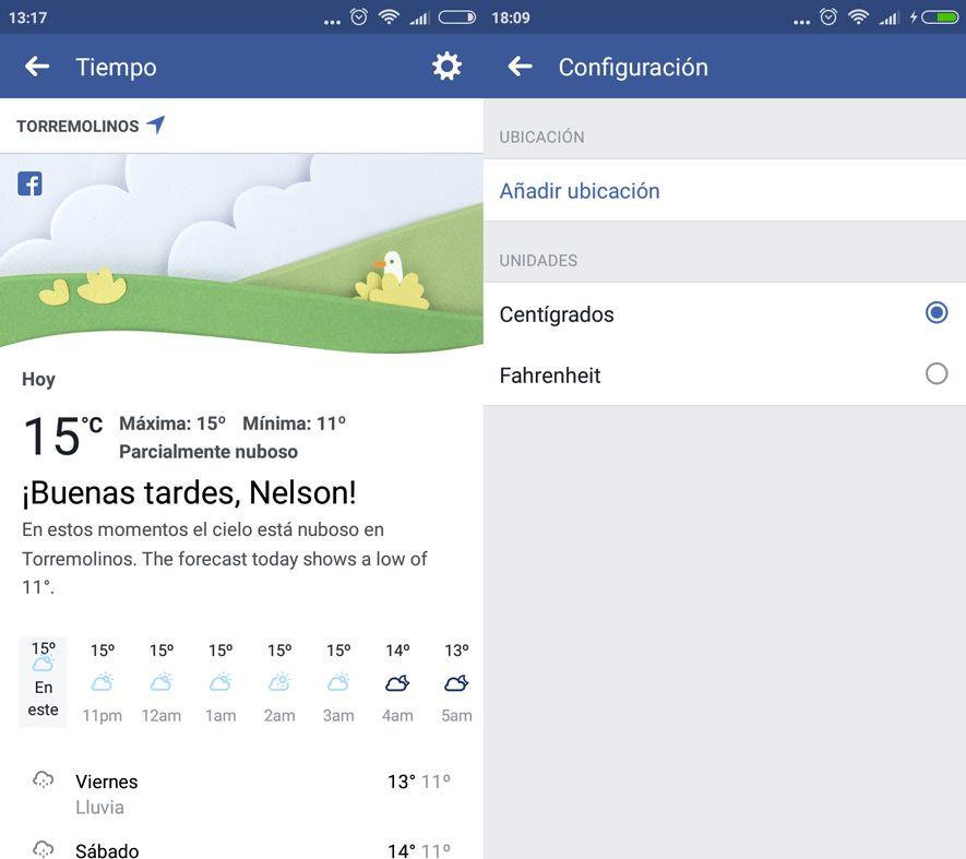 facebook tiempo Facebook adds weather updates and disaster alerts