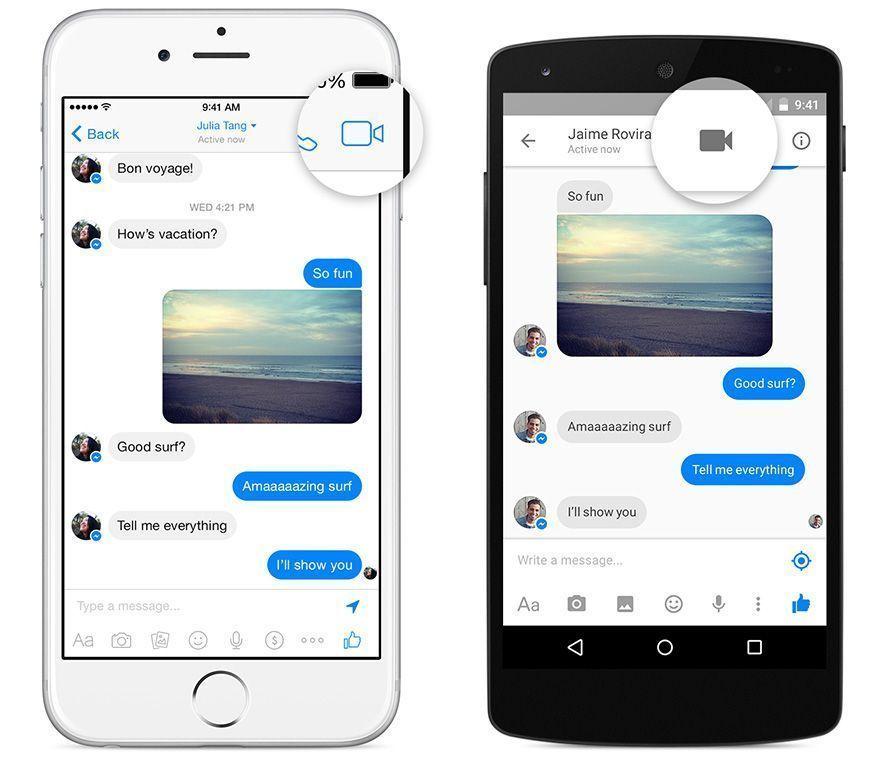 Facebook Messenger now lets you make voice calls