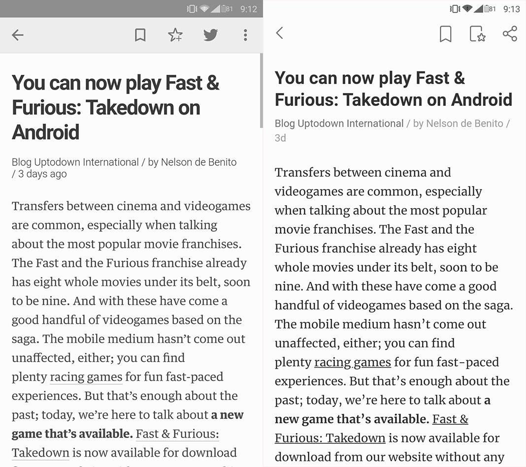 feedly new vs beta 3 Feedly renueva su interfaz y lanza una versión alternativa del cliente