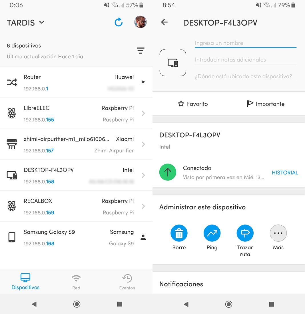 Fing aplicación para Android