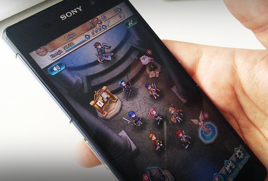 fire emblem heroes screen 2 Estos son todos los juegos de Nintendo para Android