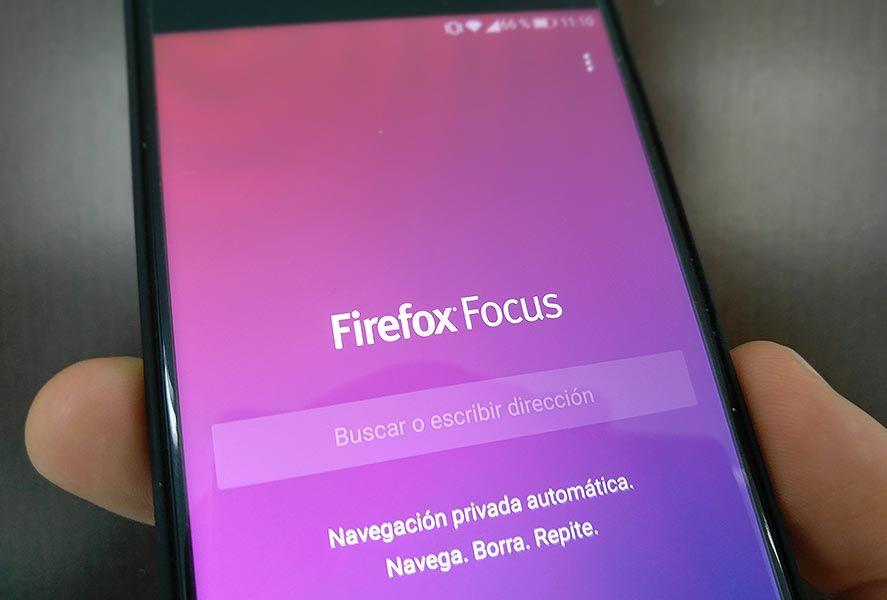 firefox focus screenshot Firefox Focus, un nuevo navegador centrado en la privacidad