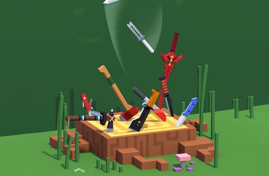 flippy knife featured Flippy Knife, divertidos minijuegos centrados en el lanzamiento de cuchillos