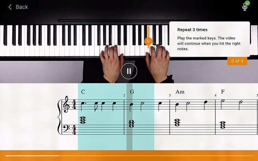 flowkey screenshot 1 Aprende a tocar el piano con flowkey