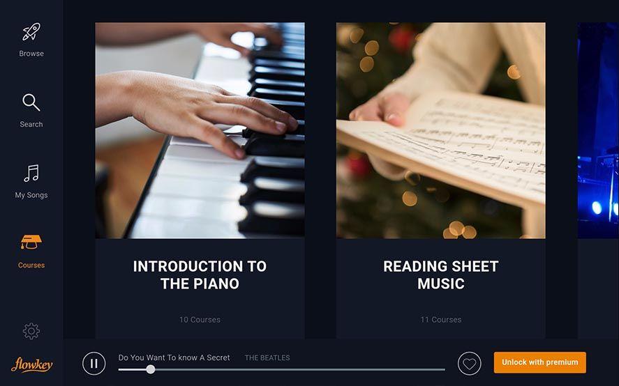 flowkey screenshot 3 Aprende a tocar el piano con flowkey