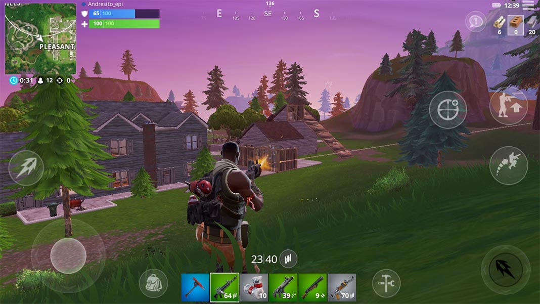 Screenshot Fortnite para Android