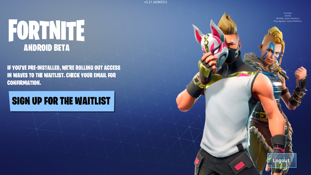 can you play fortnite without an epic account