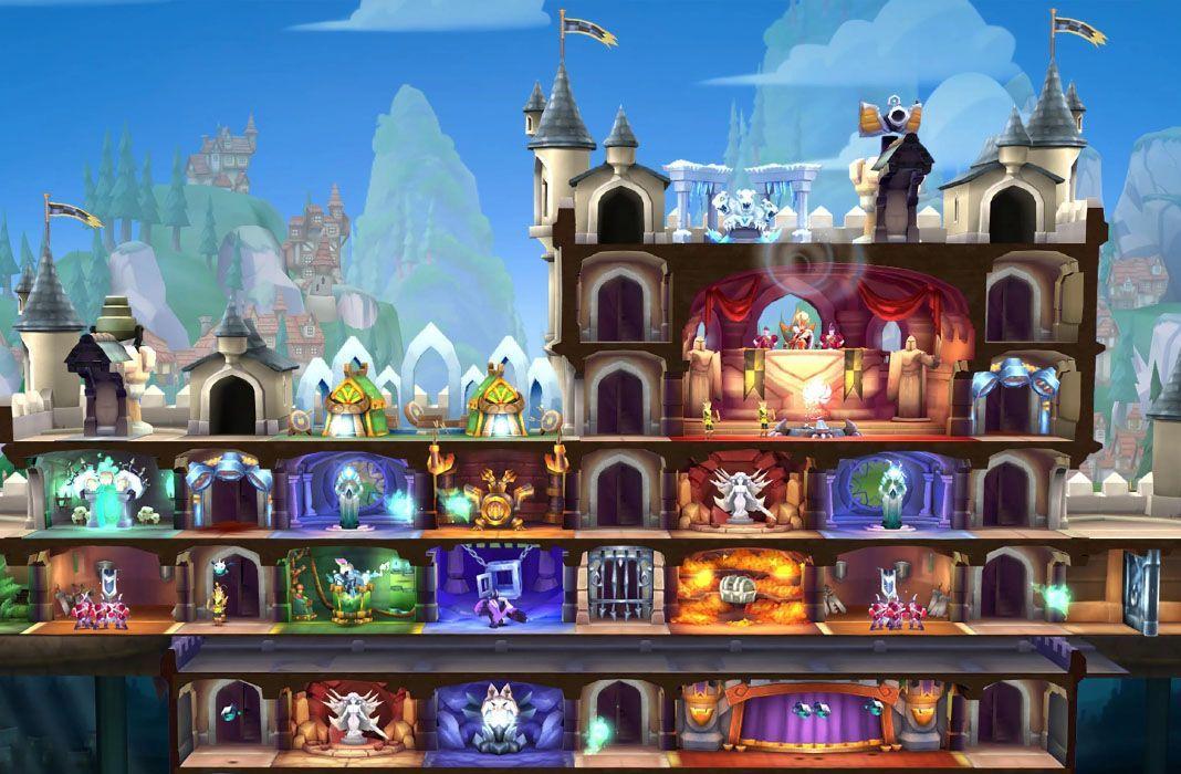 fortress of champions feat Fortress of Champions: asedios, cartas y construcción de castillos