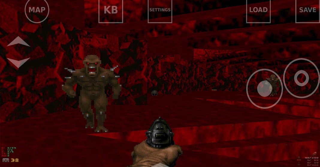 How to play the original installments of DOOM in Android