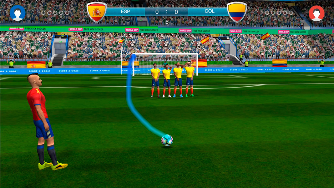 Freekick World Cup 2018
