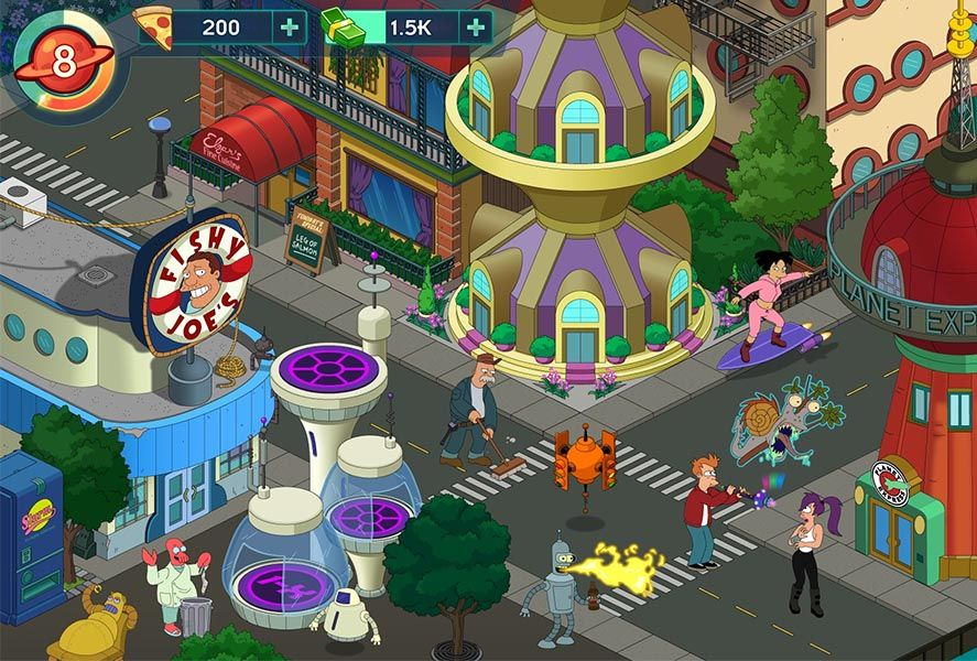 """futurama worlds of tomorrow screenshot 10 """"unreleased"""" Android games to download today"""