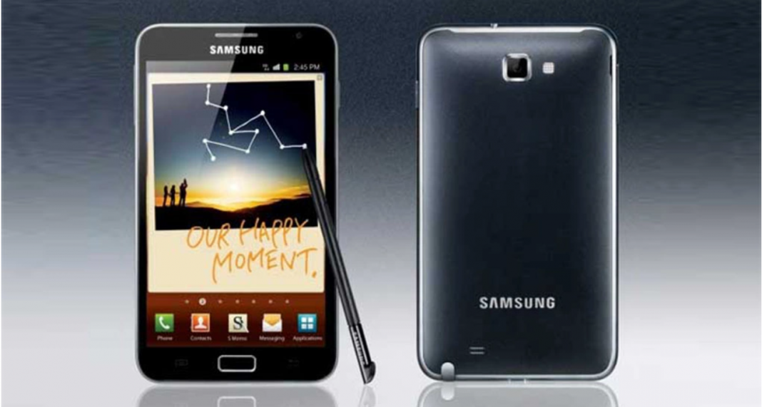 Smartphone Galaxy Note 1