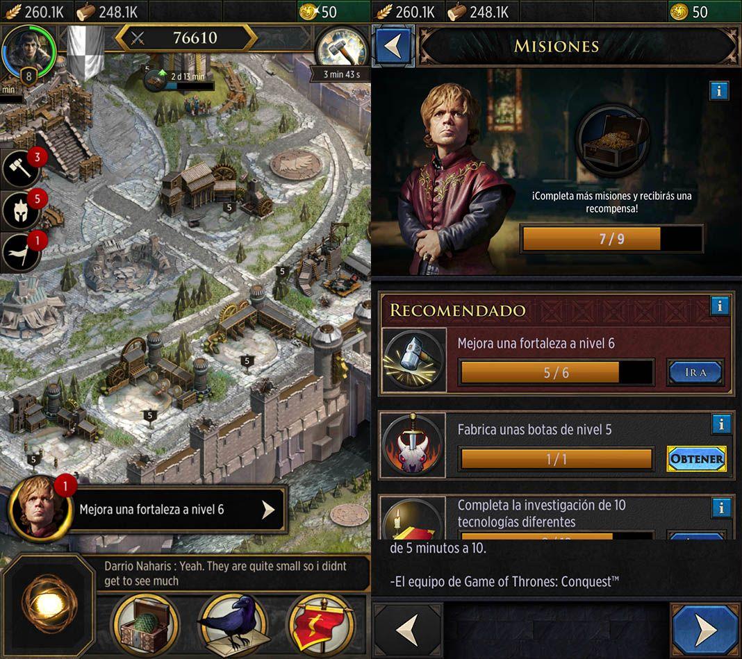 game of thrones conquest 1 Game of Thrones: Conquest, nuevo juego con licencia oficial para Android