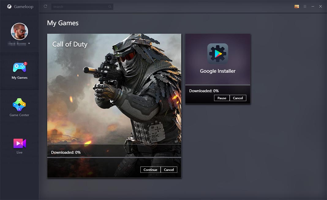 GameLoop Call of Duty Mobile en PC