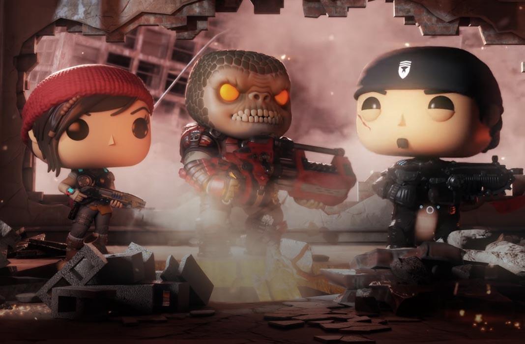 gears pop featured [Actualizado] Gears of War llegará a Android... con Funko Pop