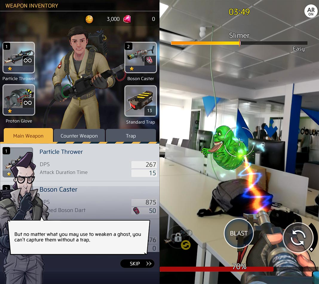 ghostbusters world 2 You can now play Ghostbusters World; like Pokémon GO but with ghosts