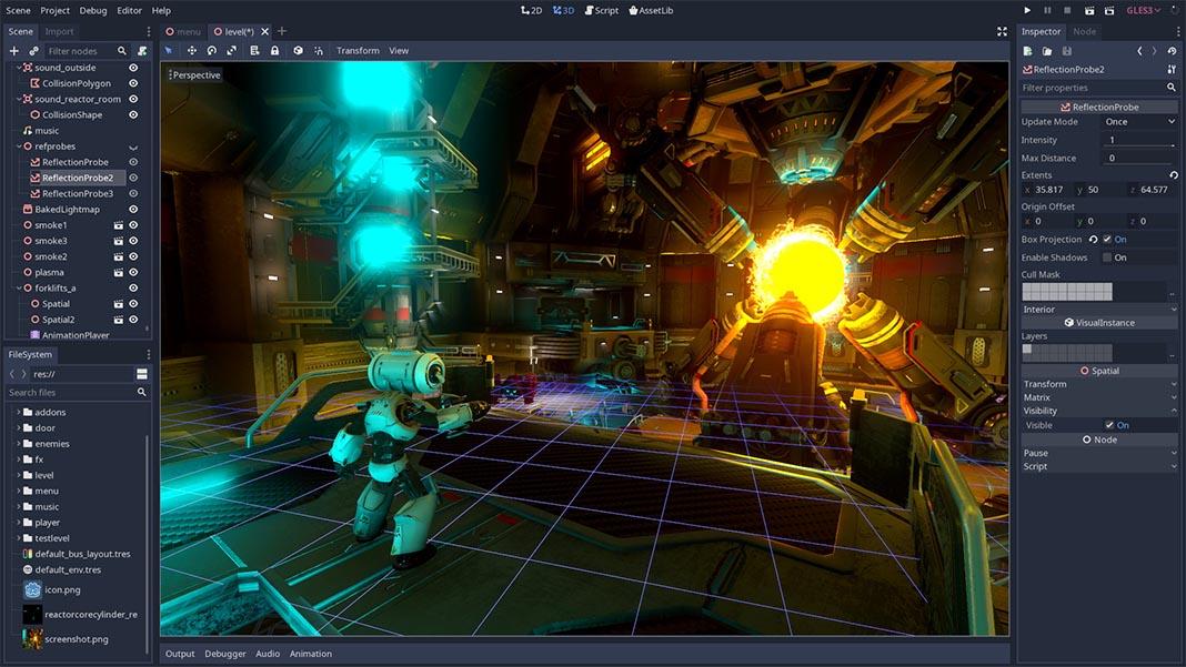 godot engine Herramientas para crear videojuegos en Android