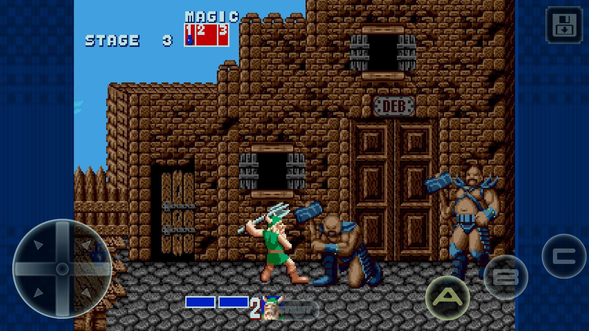 golden axe screenshot El mítico Golden Axe ya está disponible para Android