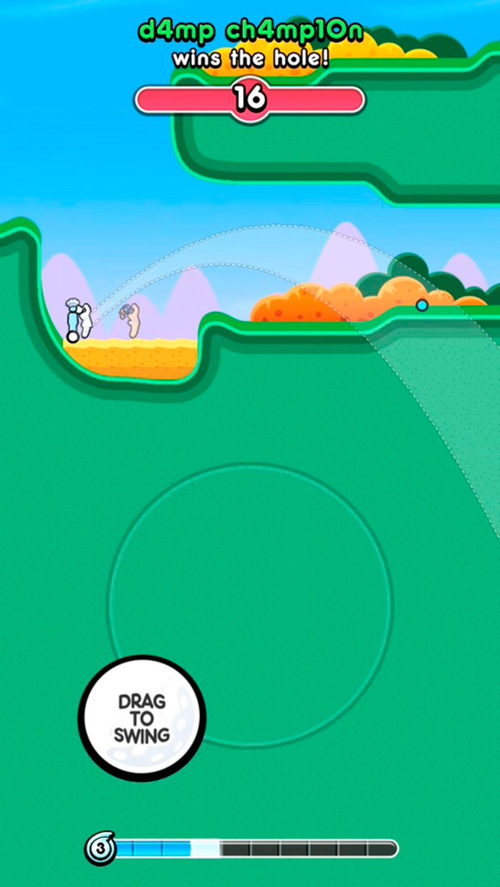 Golf Blitz Stickman