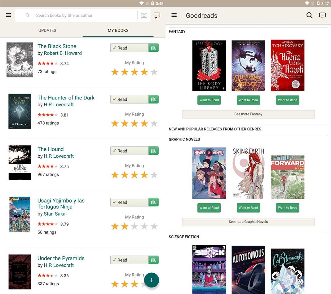 goodreads beta screenshot Las diez mejores apps para Android del mes [mayo 2018]