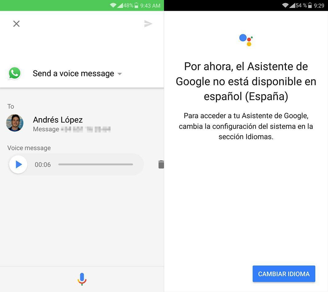 google assistant screenshot 2 Cómo usar la app de Google Assistant en cualquier dispositivo Android