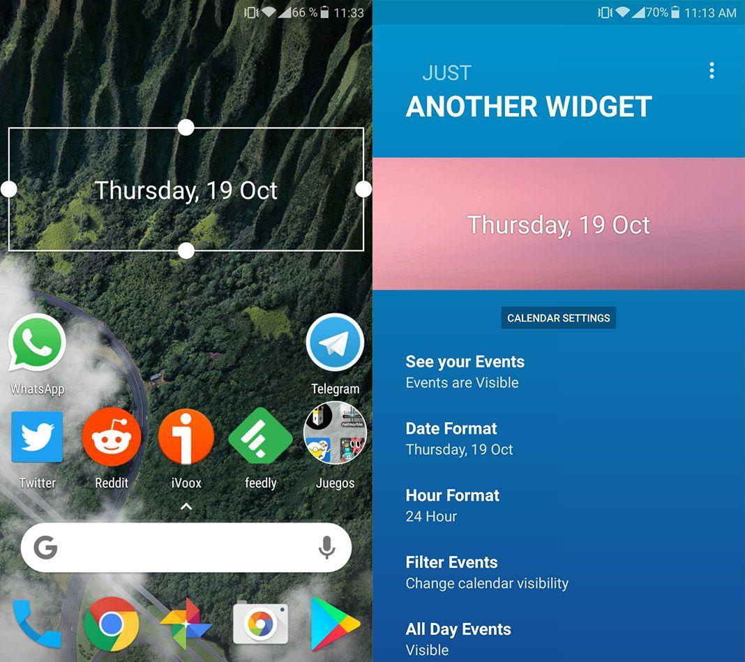 google pixel 2 another widget Simulate the Google Pixel 2 look with Nova Launcher