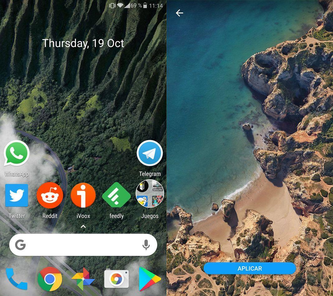 google pixel 2 wallpapers Simulate the Google Pixel 2 look with Nova Launcher