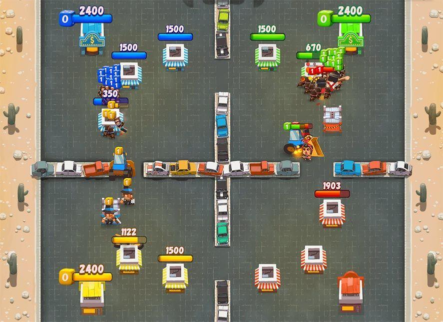 goon squad [E3 2017] Atari lanza oficialmente Lunar Battle y Goon Squad para Android