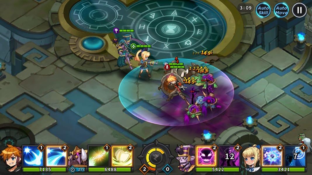 grandchase android 1 El MMORPG GrandChase regresa con una secuela para Android