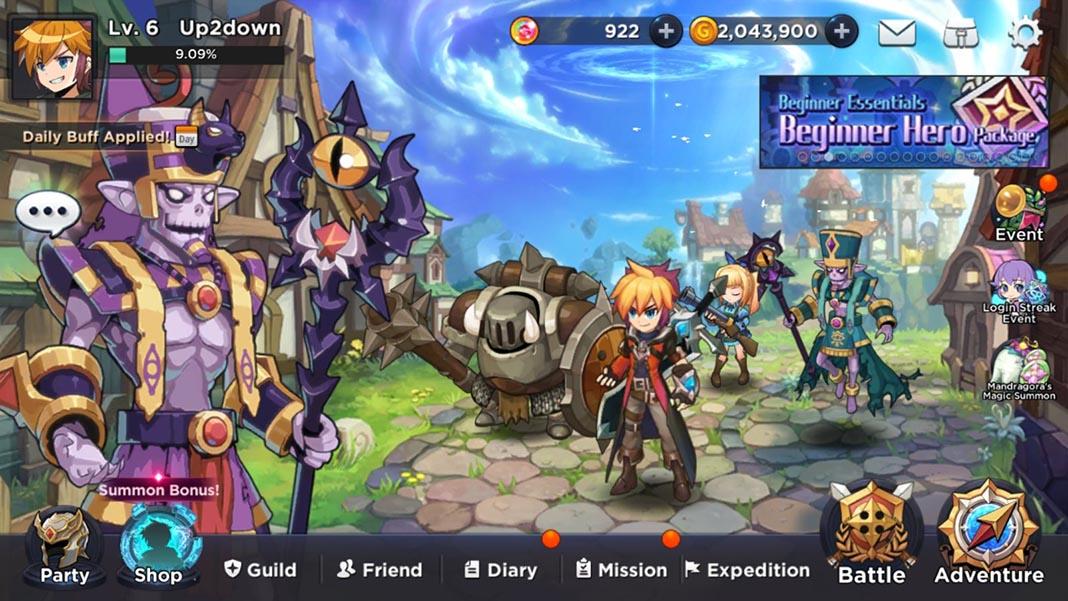 grandchase android 2 El MMORPG GrandChase regresa con una secuela para Android