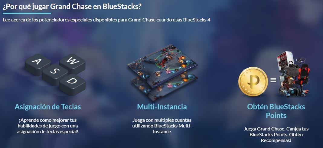 grandchase android en bluestacks El MMORPG GrandChase regresa con una secuela para Android
