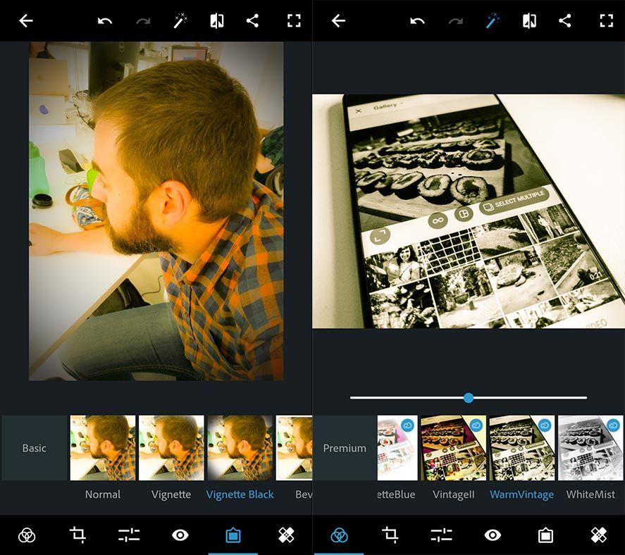 graphic design photoshop Diez apps Android de diseño gráfico
