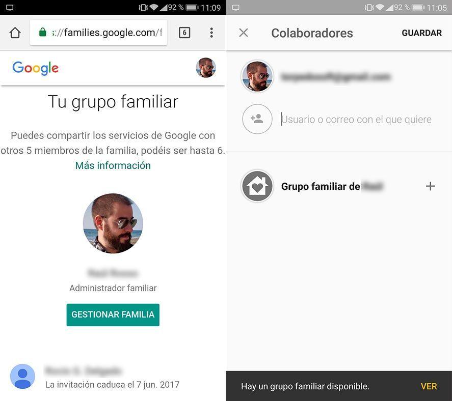 grupo familiar google 1 How to set up a new Google family account