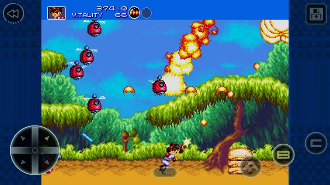 gunstar heroes is now available for free on android