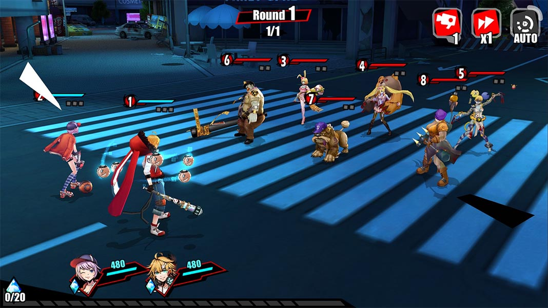 harbingers screenshot 1 Harbingers (previously, Ouroboros Project) is a fantastic JRPG with Persona 5 style