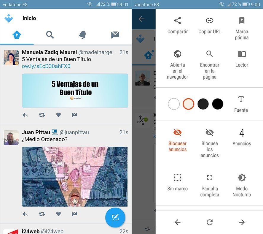 hermit twitter Cómo convertir la web de Twitter Lite en una app independiente