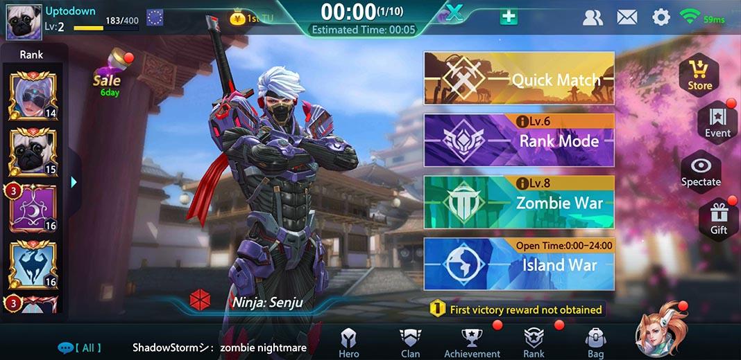 hero mission screenshot 2 Hero Mission es lo más parecido a Overwatch que puedes jugar en Android
