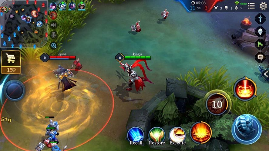 honor of kings screenshot Mobile game revenues beat out those of other platforms