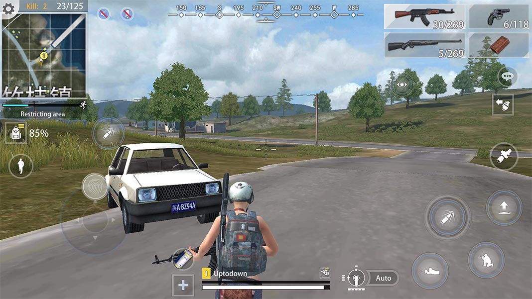 Hopeless Land, the Chinese clone of PUBG for Android that