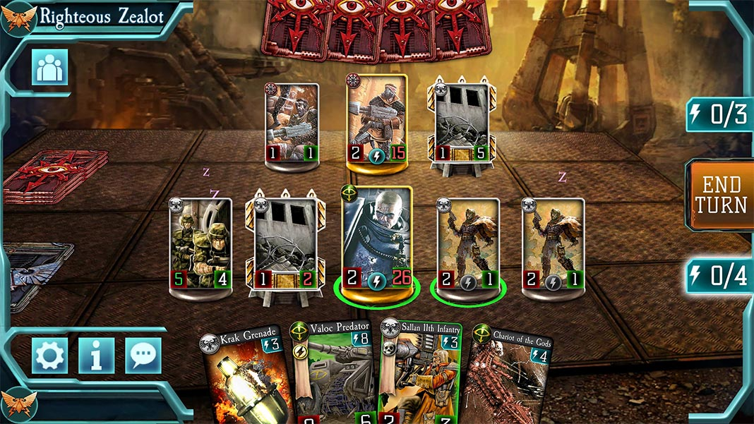 horus heresy legions All the free Android games set in the Warhammer universe