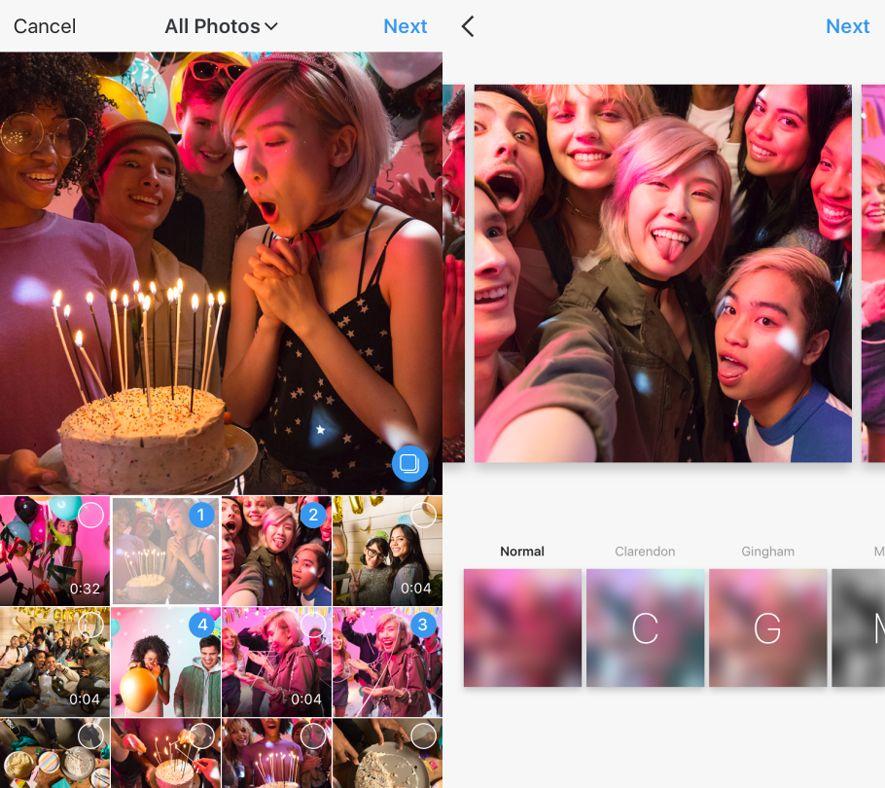 instagram galeria