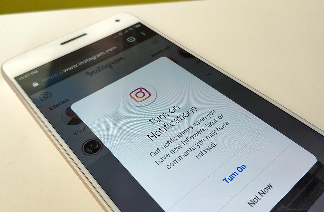 instagram lite push feat en How to turn on push notifications in Instagram Lite