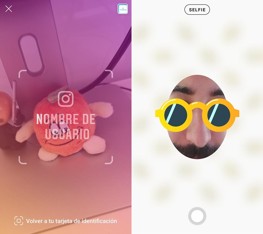 instagram tarjeta namecard Instagram añade tarjetas de identificación para agregar contactos